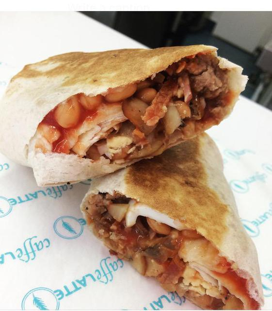 Full English - Breakfast Burrito (B)